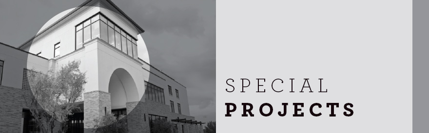 Special Projects banner