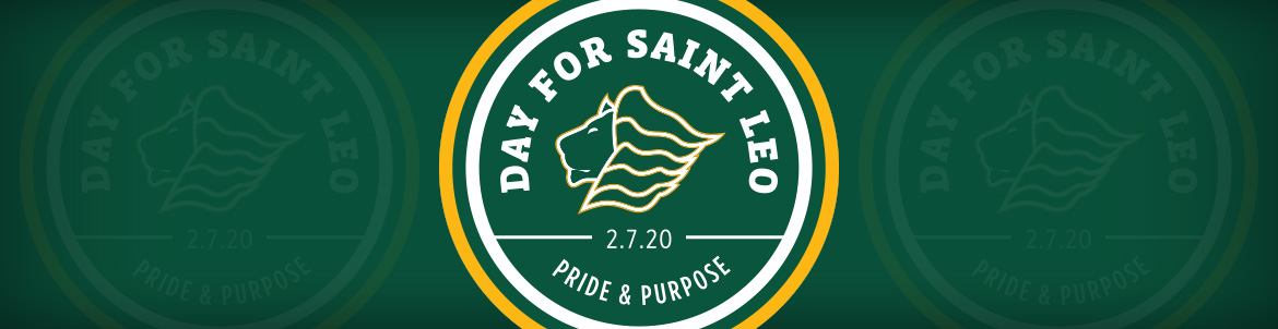 A Day for Saint Leo Spring 2020 banner