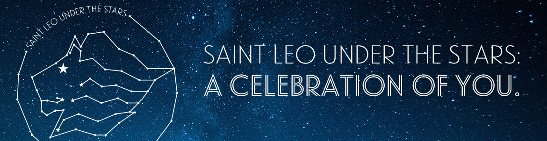 Saint Leo Under the Stars banner
