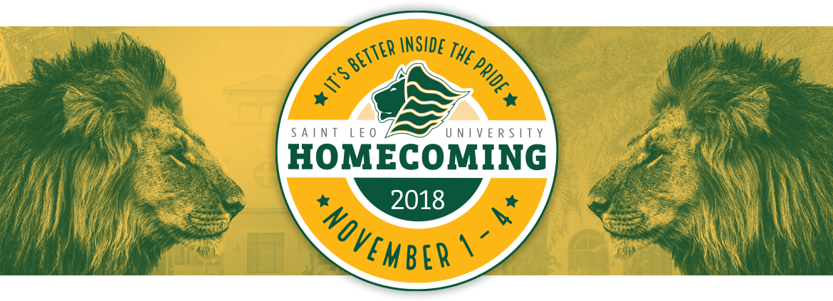 Homecoming 2018 banner
