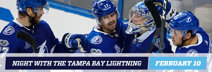 Night with the Lightning banner