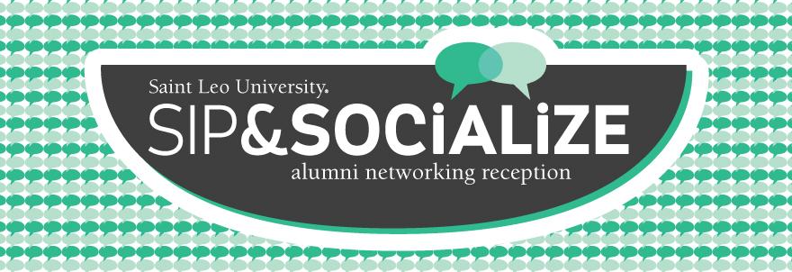 Sip & Socialize banner