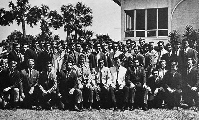 Bill Baker Fraternity group shot
