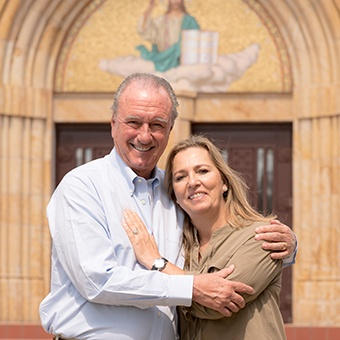 Richard Vent '63 and wife Leonor