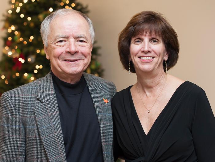 Barbara and Bobby Caldwell