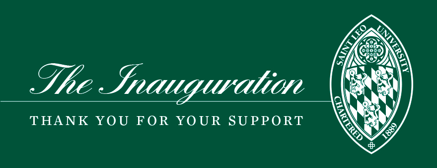 The Inauguration - Thank You for Your Support banner