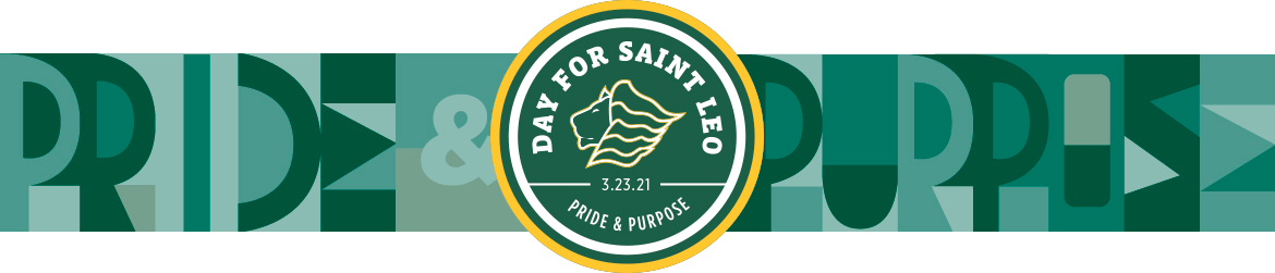 A Day for Saint Leo 2020 banner