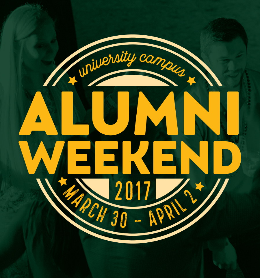 Alumni Weekend 2017 ad