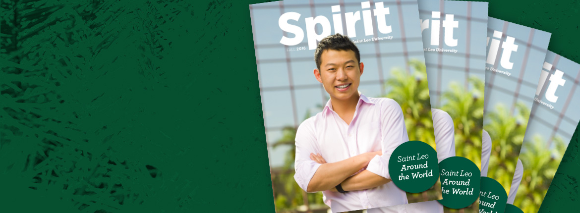 Fall issue of Spirit is Here!